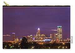 Charlotte, North Carolina Sunrise Carry-all Pouch by Serge Skiba