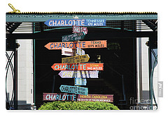 Charlotte Signs Carry-all Pouch