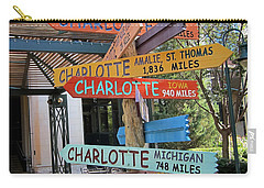 Charlotte Where Are You? Carry-all Pouch