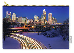 Charlotte Winter Skyline Carry-all Pouch