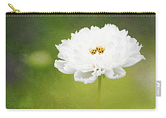 Charming White Cosmos Carry-all Pouch