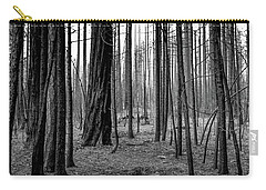 Charred Trees Carry-all Pouch by Ralph Vazquez