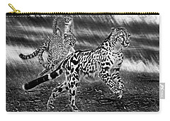 Chasing Mum Carry-all Pouch by Miroslava Jurcik