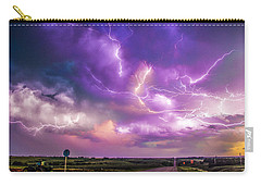 Chasing Nebraska Lightning 056 Carry-all Pouch