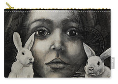 Chasing Rabbits Carry-all Pouch by Jean Cormier