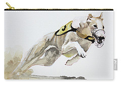 Chasing Rusty Carry-all Pouch by Rachel Hames