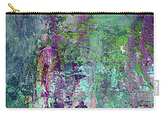 Chasing The Dream - Contemporary Colorful Abstract Art Painting Carry-all Pouch