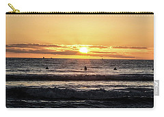 Chasing The Waves Carry-all Pouch