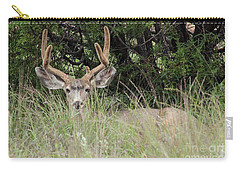 Chasing Velvet Antlers 2 Carry-all Pouch by Natalie Ortiz