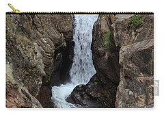 Carry-all Pouch featuring the photograph Chasm Falls - Panorama by Shane Bechler