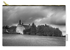 Carry-all Pouch featuring the photograph Chateau Du Vergey by Hugh Smith