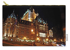 Chateau Frontenac Quebec 2008 Carry-all Pouch by John Schneider