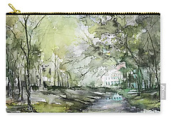 Chateau In Provence  Carry-all Pouch