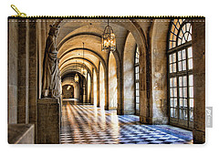 Chateau Versailles Interior Hallway Architecture  Carry-all Pouch