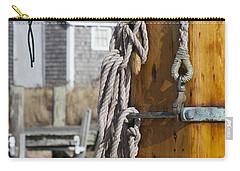 Carry-all Pouch featuring the photograph Chatham Old Salt by Charles Harden