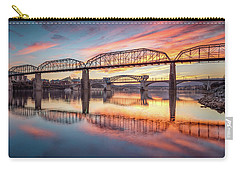 Chattanooga Sunset 5 Carry-all Pouch by Steven Llorca