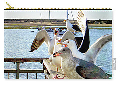 Chatty Seagull Birds Carry-all Pouch