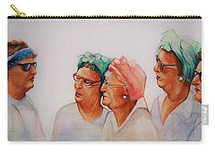 Paradise Trailer Park Welcoming Committee Carry-all Pouch by Jean Cormier