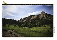 Carry-all Pouch featuring the photograph Chautauqua At Night by Marilyn Hunt