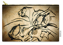 Chauvet Cave Lions Carry-all Pouch