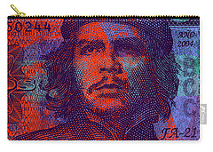 Che Guevara 3 Peso Cuban Bank Note - #3 Carry-all Pouch