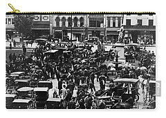 Cheapside Public Square In Lexington - Kentucky - April 7  1920 Carry-all Pouch