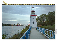 Cheboygan Crib Lighthouse Lake Huron, Lower Peninsula Mi Carry-all Pouch