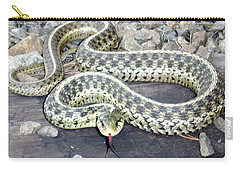 Checkered Garter Snake Carry-all Pouch