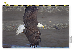 Checking Out The River Carry-all Pouch by Elvira Butler