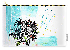 Cheeky Daisies Carry-all Pouch