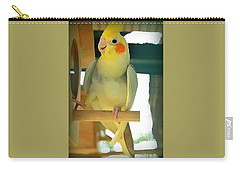 Cheerful Cockatiel Carry-all Pouch
