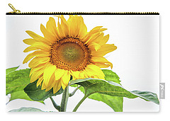 Carry-all Pouch featuring the photograph Cheerful Flower Cheerful Mood by Jenny Rainbow