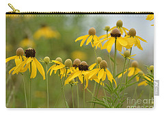 Carry-all Pouch featuring the photograph Cheerful by Maria Urso