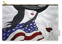 Cheers To America 1 Carry-all Pouch by Lance Headlee