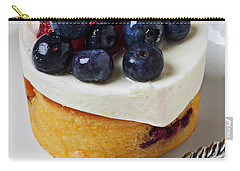 Cheese Cream Cake With Fruit Carry-all Pouch