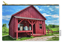 Carry-all Pouch featuring the photograph Cheese Factory by Trey Foerster