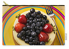 Cheesecake With Fruit Carry-all Pouch