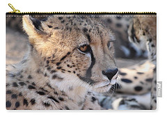 Cheetah And Friends Carry-all Pouch