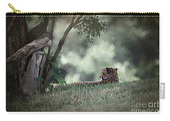 Cheetah On Watch Carry-all Pouch