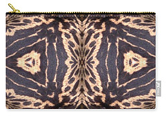 Cheetah Print Carry-all Pouch by Maria Watt