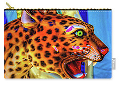Cheetah Ride Portrait Carry-all Pouch