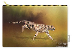 Cheetah Running Carry-all Pouch