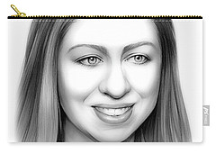 Chelsea Clinton Carry-all Pouch by Greg Joens