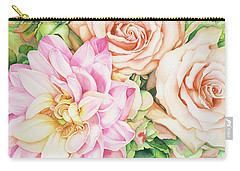 Chelsea's Bouquet Carry-all Pouch