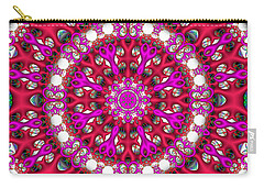 Carry-all Pouch featuring the digital art Chemistry by Robert Orinski