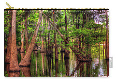 Carry-all Pouch featuring the photograph Louisiana Cheniere Lake Bayou by Ester Rogers