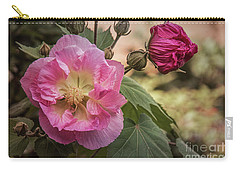 Carry-all Pouch featuring the photograph Cher by Elaine Teague