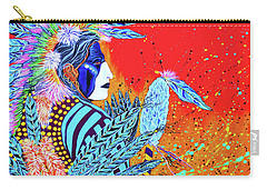 Cherokee Dance Card Carry-all Pouch