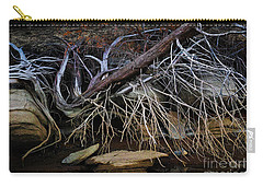 Carry-all Pouch featuring the photograph Cherokee Lake Abstract by Douglas Stucky