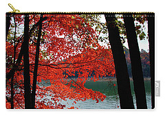 Carry-all Pouch featuring the photograph Cherokee Lake Color by Douglas Stucky
